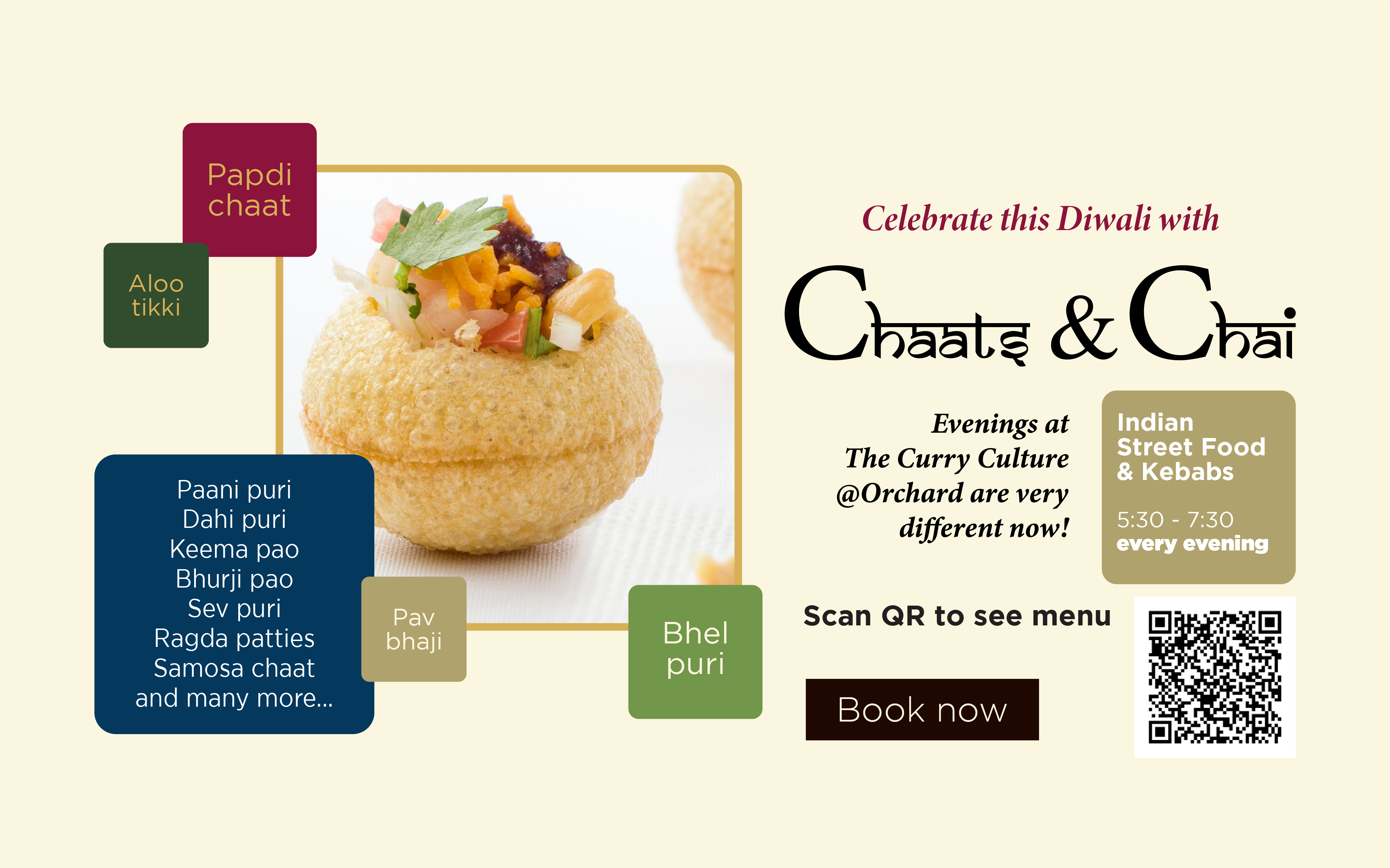 Celebrate this Diwali with Chaats & Chai